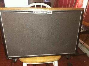 Line 6 cab with 2 twelve inch speakers