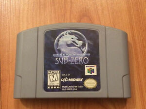 Mortal Kombat Sub-Zero for N64