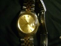 VINTAGE 80'S ROLEX OYSTER PERPETUAL STAINLESS -GOLD