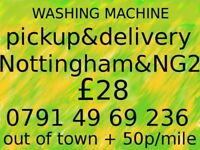 WASHING MACHINE pickup & delivery in Nottingham & NG2 ~ £28