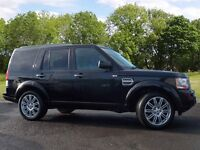 Land Rover DISCOVERY 4 SDV6 HSE (black) 2011