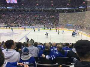 Toronto Maple Leafs vs Boston Bruins Tickets GREENS AND GOLDS