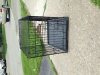 Small petmate metal crate