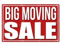 MOVING  SALE CALL NOW ( 647) 561 2889