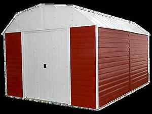 """Metal Building """"Red Barn"""" 10ft x 14ft"""