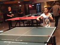 Table Tennis lessons with BBC TV documentary 'How To Stay Young' coach - boost your ping pong skills