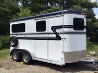 Looking for 2 horse straight load trailer