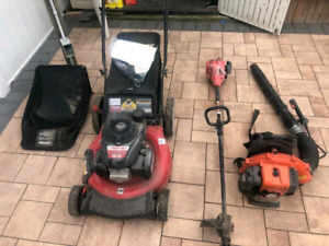 *WANTED* USED  (LAWN MOWERS, WEED WACKERS, CHAISAWS , ANYTHING)