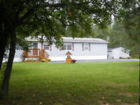3 bedroom mini on 4+ ACRES!! PRICED TO SELL