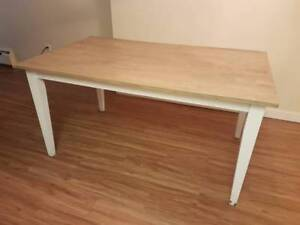 Farmhouse Rustic Dining Table - $200 (New Westminster)