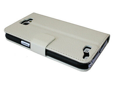 Handy Tasche für Samsung Galaxy Note 2 Flip Case Schutz Hülle Cover Etui KFZ NEU