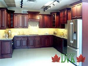 ❀ Kitchen Cabinets for Sale ❀ -Dark Cherry Maple