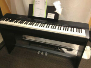 Casio Piano PX-150 with Stand,3 pedal unit (88 full keys) -