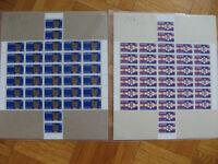 Lot de timbres canadien