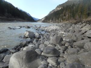 Placer Gold claim on Fraser south of Lytton