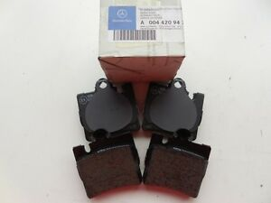 Mercedes-Benz CL S Class 2000-2003 Rear Brake Pad Set OEM NEW