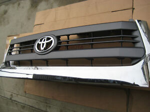 NEW 2014 2015 2016 2017 Tundra Factory OEM CHROME Grill Grille