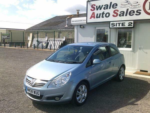 2008 VAUXHALL CORSA DESIGN 1.4L ONLY 65,863 MILES, FULL SERVICE HISTORY