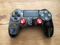 FOR SALE IS A MARVEL CUSTOM PS4 CONTROLLER COSMETICALLY IN MINT CONDITION.
