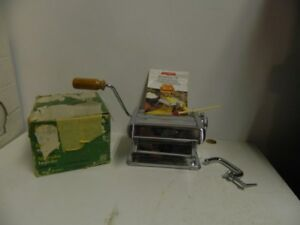 Manual Chrome Pasta Maker (Tipo Excelsius) made in Italy