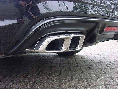 Mercedes CL203 Diffusor Dynamik-Performance für AMG Styling mit Leuchte