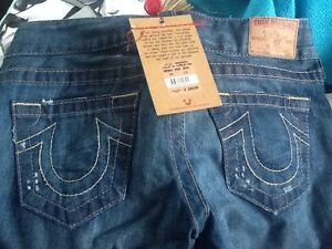 Brand new women's True Religion jeans with tags and retail bag! Edmonton Edmonton Area image 3