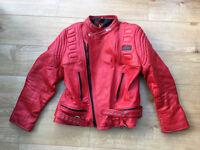G-MAG vintage leather motorcycle jacket