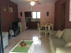 A great 2br poolside condo for sale or rent; beach town of sosua