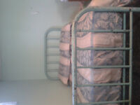 Iron Bed Frame - Double