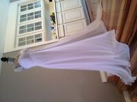 Romantic Wedding Dress - Sweetheart with Sequenced Front. NEW