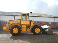 Volvo L-70 Front-end Loader Available for Snow Removal
