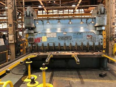 Cincinnati Inc 8n12 Hydraulic Shear 3583