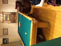Dufferin pool table/ping pong table
