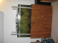 Large Fish Tank and Accessories
