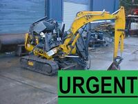 DIGGERS AND MORE WANT£D FOR EXPORT MARKET! CALL NOW!