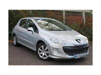 Peugeot 308 1.6HDI ( 90bhp ) Sport 5 Door Hatchback £30 RFL