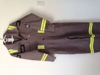 FR (Flame Resistant) High-Visibility Coveralls