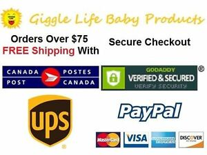 Giggle Life Cloth Diapers - Baby 7-36 lbs, Youth & Adult Sizes Cambridge Kitchener Area image 6