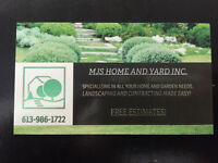 YOUR ONE STOP LANDSCAPING AND RENO SHOP