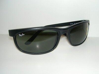 New RAY BAN Sunglasses PREDATOR 2 Matte Black RB 2027  W1847  G-15 Glass (Ray Ban Rb2027)
