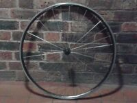 lightweight 700c front wheel quick-release road bike fast race Alex DA22 radial spoke good condition