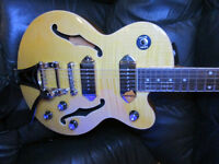 Epiphone Wildkat Semi Hollow Electric Guitar with Bigsby