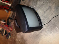 free 13 inch tube tv and remote
