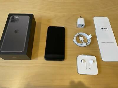 Apple iPhone 11 Pro - 256GB - Space Gray (Factory Unlocked ) A2160 (CDMA + GSM)