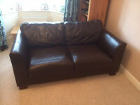 PRICE REDUCTION Luxury Italian Leather Sofas x2