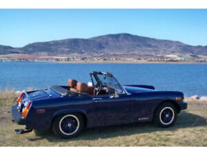 1975 MGB Migit stored 12 years mint top/interior/show quality