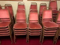 quality banquet chairs £7 each i have 61 altogether