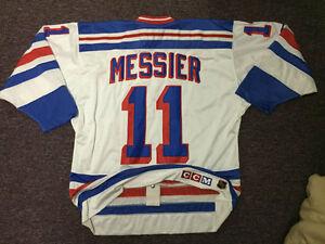 Mark Messier New York Rangers NHL Hockey Jersey - Size 52 - XL