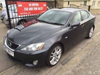 LEXUS IS 250 SPORT (2006) SERVICE HISTORY, 1 YEAR MOT, WARRANTY £2350