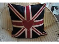 Designer Jan Constantine Pure Wool Cushion RRP £82